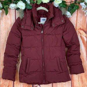 Old Navy Hooded Warm Winter Puffer Jacket 1507CH4